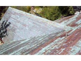 Cupric Nitrate Copper Roof Panels 5