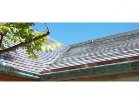 Cupric Nitrate Copper Roof Panels 1
