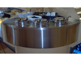 Stainless Counter