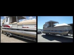 Re-Skinned Boat