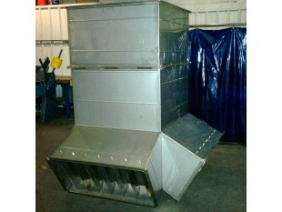 Stainless Steel Air Duct Diverter