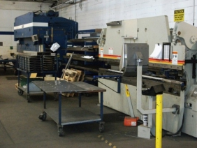 200 TON PRESS 20 FT LONG - 100 TON PRESS 12FT LONG