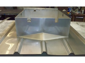 Stainless Roof Curb 2
