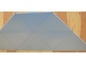 Custom Triangle Wall Panels 2