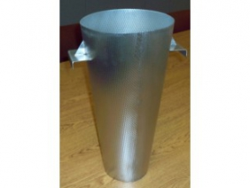 Stainless Steel Dimpled Funnel 1