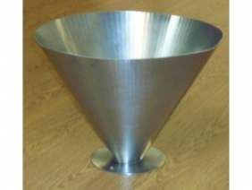 Stainless Steel Dimpled Funnel 2