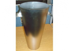Stainless Steel Dimpled Funnel 3