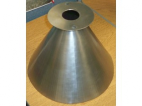 Stainless Steel Dimpled Funnel 4
