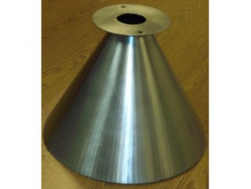 Stainless Steel Dimpled Funnel 5