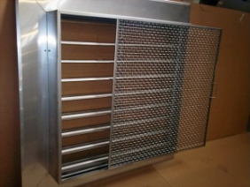 Stainless Steel Louver with Screen 1