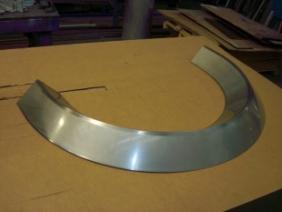 Stainless Steel Radius Cover 1