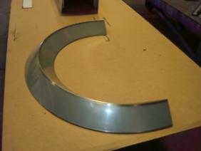 Stainless Steel Radius Cover 2