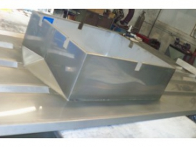Welded Stainless Steel Roof Curb 1