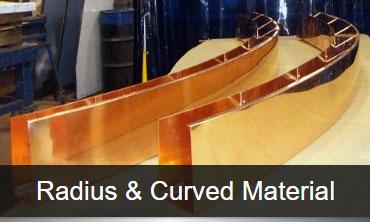 Radius Curved Material